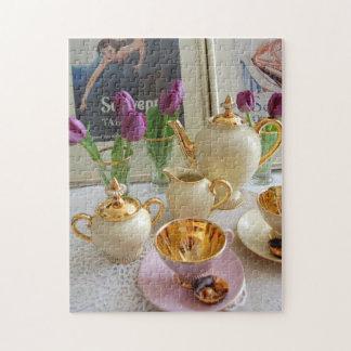 午後のお茶のジグソーパズル ジグソーパズル