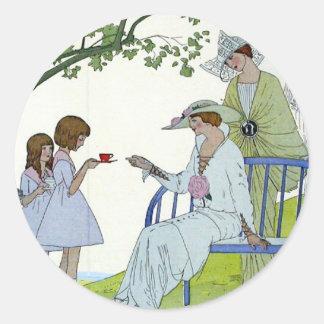 午後のお茶1913年 ラウンドシール