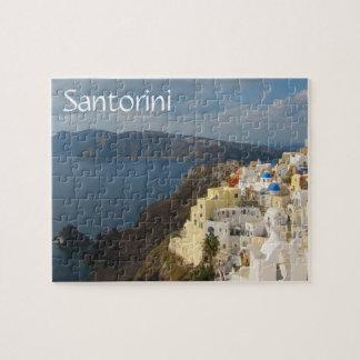 午後日曜日Santorini ジグソーパズル