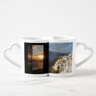午後日曜日Santorini ペアカップ