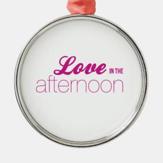 午後(メロドラマライン)愛 メタルオーナメント