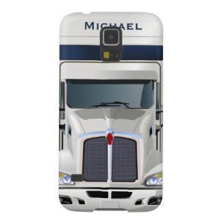 半トラックの貨物Samsungの銀河系S5の箱 Galaxy S5 ケース