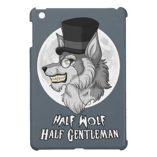 半分のオオカミのiPad Miniのための半分の紳士カバー iPad Mini カバー
