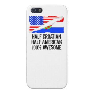 半分のクロアチアの半分のアメリカの素晴らしい iPhone 5 ケース