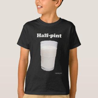半分のパイントの暗闇のワイシャツ Tシャツ