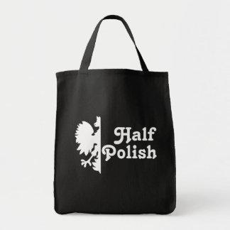 半分のポーランド語 トートバッグ