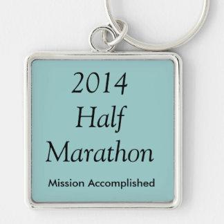 半分のマラソン、達成される代表団! キーホルダー