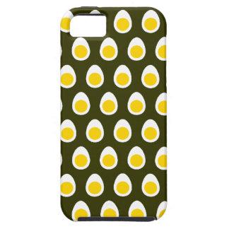 半分の卵パターン iPhone SE/5/5s ケース