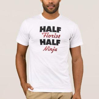 半分の花屋の半分の忍者 Tシャツ