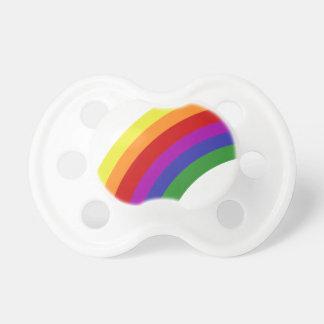 半分の虹 おしゃぶり