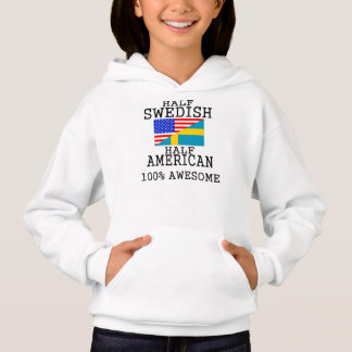 半分スウェーデンの半分のアメリカ人