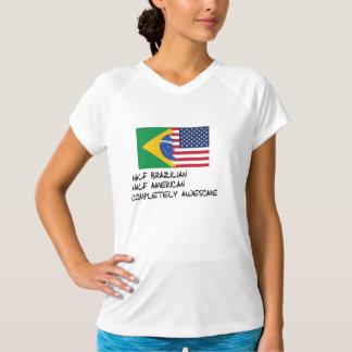 半分ブラジルの完全に素晴らしい Tシャツ