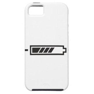 半分充満電池 iPhone SE/5/5s ケース