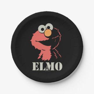 半分Elmo ペーパープレート