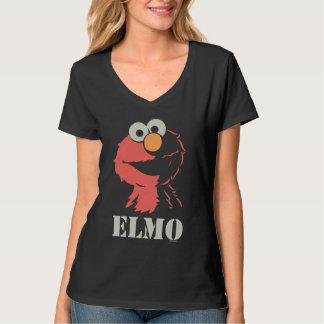 半分Elmo Tシャツ
