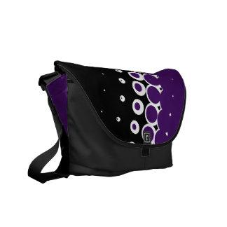 半影の黒檀(インディゴ)のメッセンジャーバッグ メッセンジャーバッグ