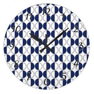 半月の円 ラージ壁時計