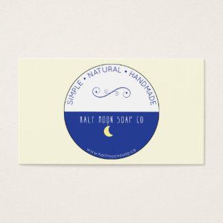 半月の名刺の2015年5月のロゴだけ 名刺