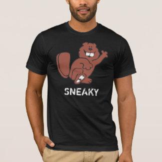 卑劣なビーバー Tシャツ