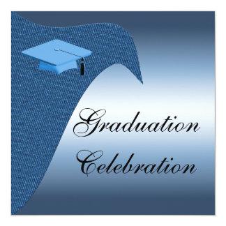 卒業のお祝いのパーティの招待状 カード