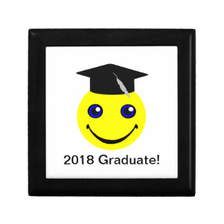 卒業のためのEmojiのスマイリーの卒業生のギフト ギフトボックス