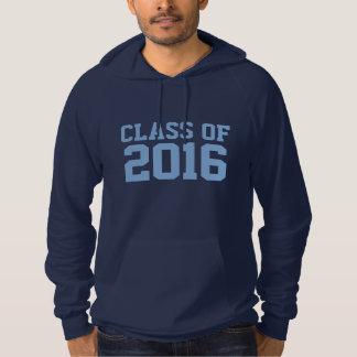 卒業のカスタムな年及び名前の衣類 パーカ
