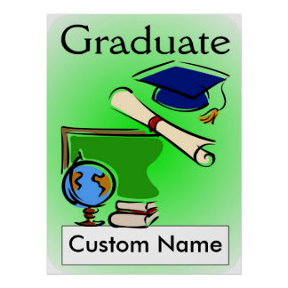 卒業のギフト ポスター