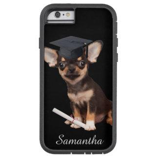 卒業のチワワ犬 TOUGH XTREME iPhone 6 ケース