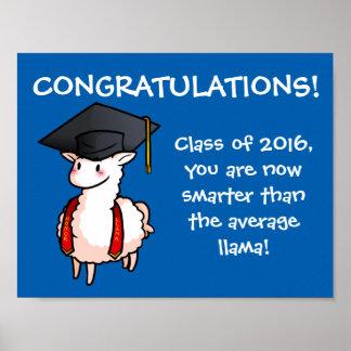 卒業のラマ ポスター