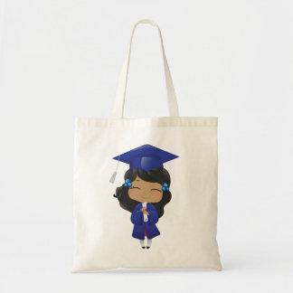 卒業の女の子 トートバッグ