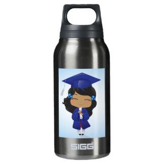 卒業の女の子 断熱ウォーターボトル