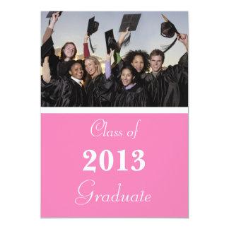 卒業の招待状2014年 12.7 X 17.8 インビテーションカード