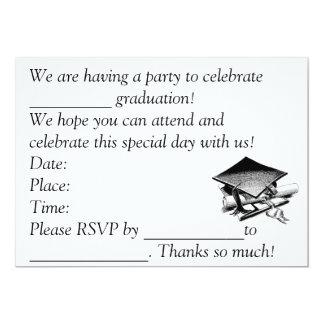 卒業の招待 カード