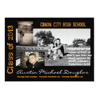 卒業の発表 カード