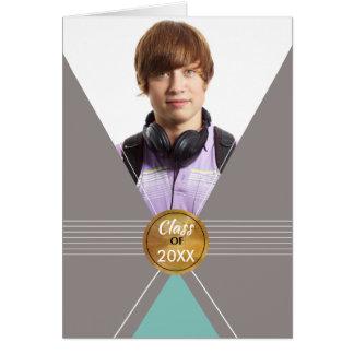 卒業の2016年カスタム、名前入りな写真カード、Bの カード