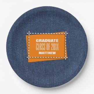 卒業パーティーのカスタムな紙皿 ペーパープレート