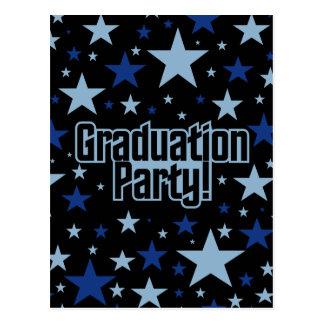 卒業パーティーの郵便はがきは、カスタマイズ ポストカード