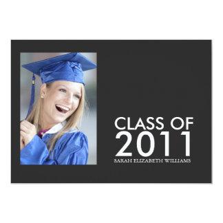 卒業パーティー 12.7 X 17.8 インビテーションカード
