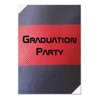 卒業パーティー 8.9 X 12.7 インビテーションカード