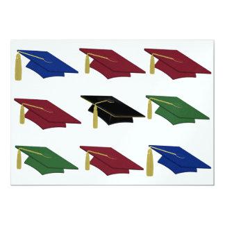 卒業パーティー- SRF 12.7 X 17.8 インビテーションカード