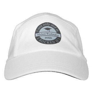 卒業名前をカスタムする及び年の帽子 ヘッドスウェットハット
