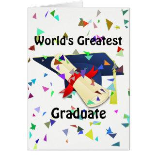 卒業生か卒業カード カード