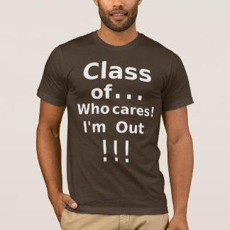 卒業生のクラス Tシャツ