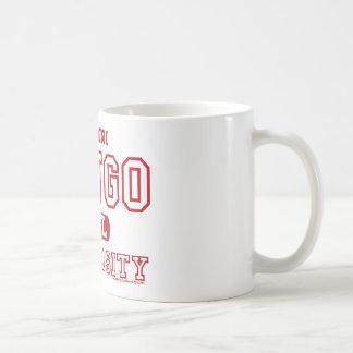 卒業生のビンゴ大学大きいマグ コーヒーマグカップ