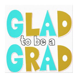 卒業生の卒業2012年があること嬉しい キャンバスプリント