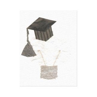 卒業生の球根のキャンバス キャンバスプリント