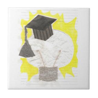 卒業生の球根のタイル タイル