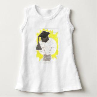 卒業生の球根のベビーの服 ドレス