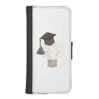 卒業生の球根の私電話5/5Sウォレットケース iPhoneSE/5/5sウォレットケース