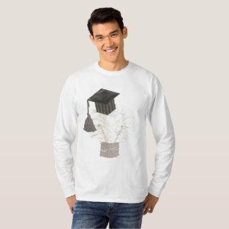 卒業生の球根背景の人無しのジャンパー Tシャツ
